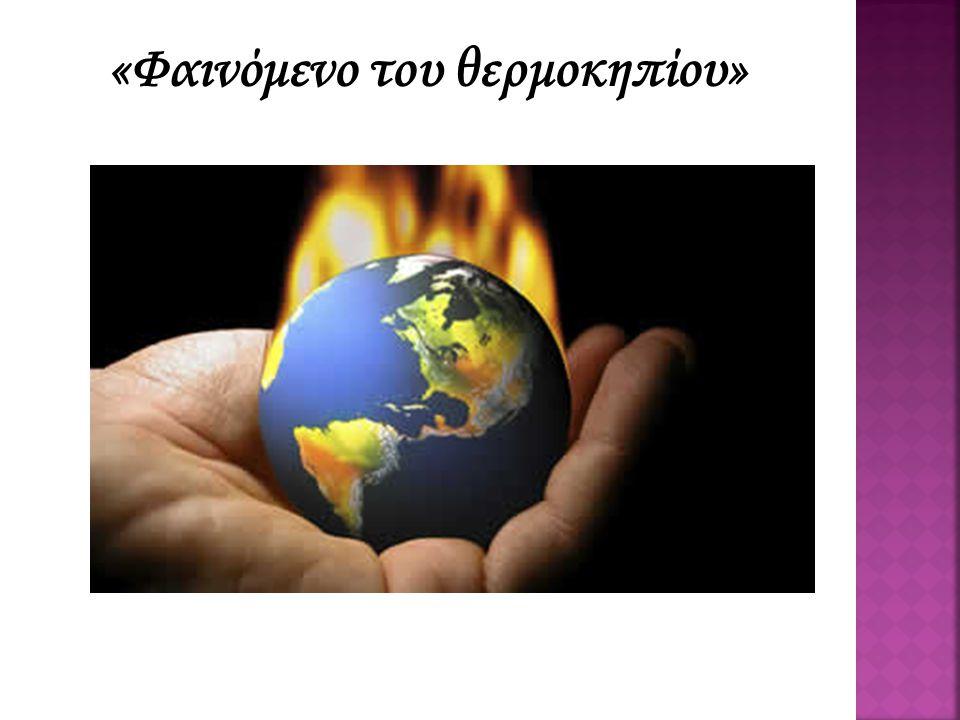 Ερωτήσεις: I.Τι είδαμε στο video; II. Έχετε ακούσει ξανά για το φαινόμενο του θερμοκηπίου; III.