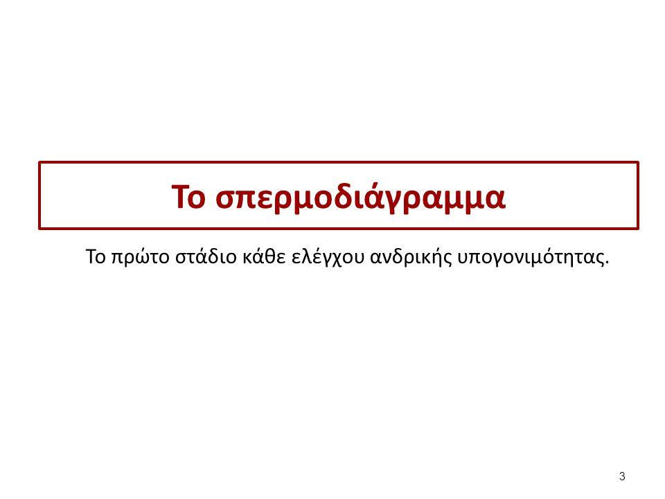 H κίνηση των σπερματοζωαρίων 24 Εργαστήριο Βιολογικών Υγρών, Τμήμα Ιατρικών Εργαστηρίων, ΤΕΙ Αθηνών