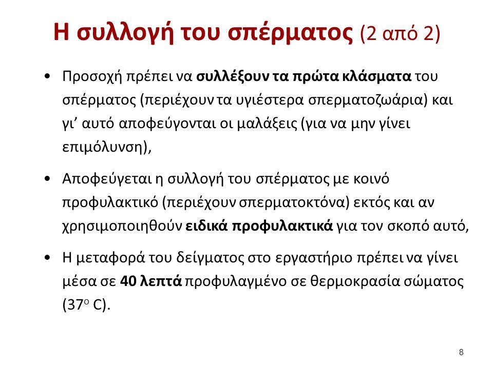 Ανωμαλίες κεφαλής 59 Εργαστήριο Βιολογικών Υγρών, Τμήμα Ιατρικών Εργαστηρίων, ΤΕΙ Αθηνών