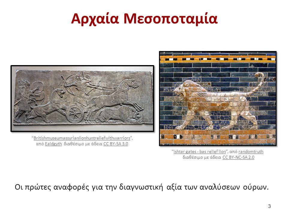 """Αρχαία Μεσοποταμία Οι πρώτες αναφορές για την διαγνωστική αξία των αναλύσεων ούρων. """"ishtar gates - bas relief lion"""", από randomtruthishtar gates - ba"""