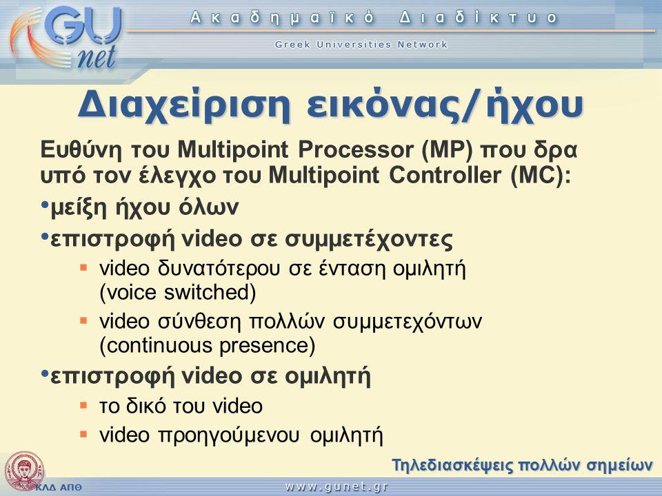 ΚΛΔ ΑΠΘ Τοπικοί χρήστες (3/5) Αρχείο: extensions.conf [diafora] [topika] exten => 2000,1,Dial(SIP/2000,20) exten => 2001,1,Dial(SIP/2001,20)