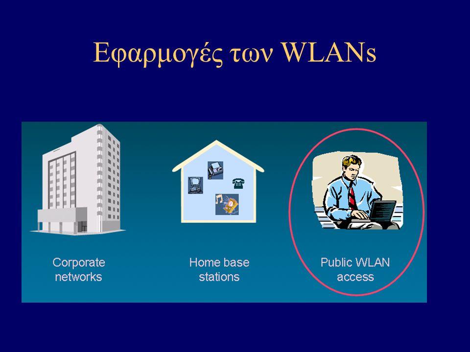 Εφαρμογές των WLANs