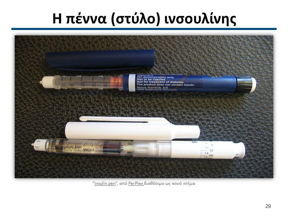 Η πέννα (στύλο) ινσουλίνης Insulin pen , από PerPlex διαθέσιμο ως κοινό κτήμαInsulin penPerPlex 29