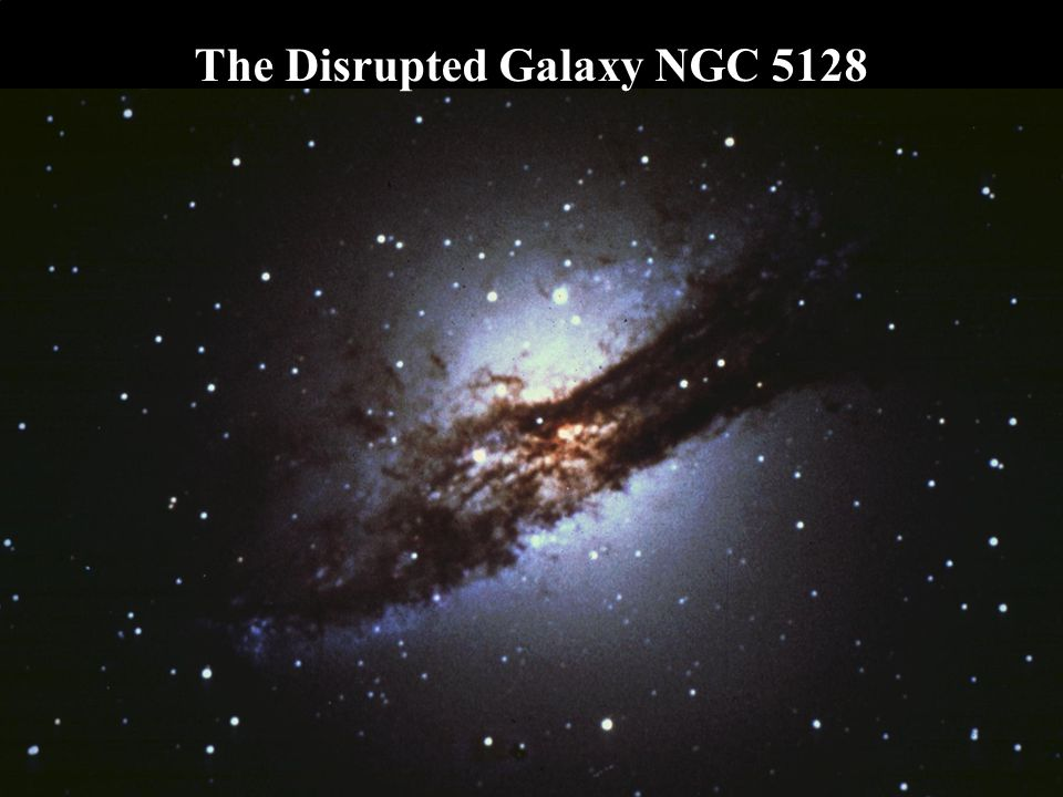 The Disrupted Galaxy NGC 5128