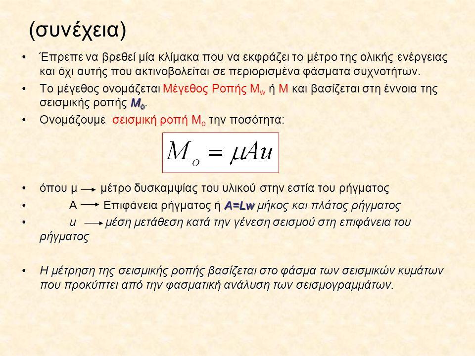 (συνέχεια) Έπρεπε να βρεθεί μία κλίμακα που να εκφράζει το μέτρο της ολικής ενέργειας και όχι αυτής που ακτινοβολείται σε περιορισμένα φάσματα συχνοτή