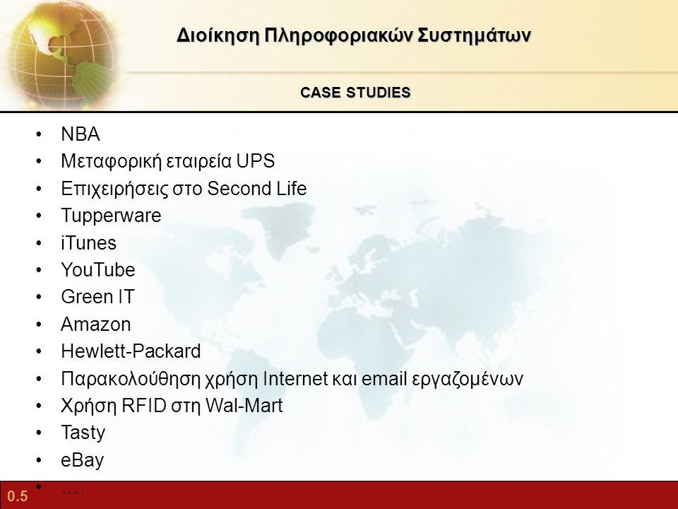 0.6 Τάσεις που θα καθορίσουν το μέλλον των Πληροφοριακών Συστημάτων Διοίκηση Πληροφοριακών Συστημάτων Όλα θα είναι κατανεμημένα (δεδομένα, υπηρεσίες, κ.λπ.) Συνέπειες: ζητήματα διαχείρισης, ασφάλειας, ταυτοποίησης, κλ.π.