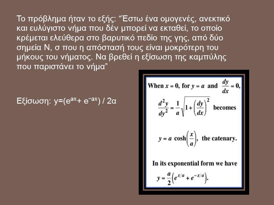 θα είναι ένα ακριβές αντίγραφο του εαυτού της Η λογαριθμική σπείρα έχει αρκετές ενδιαφέρουσες ιδιότητες για τους μαθηματικούς.