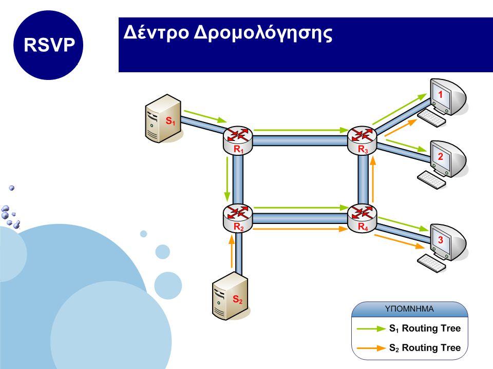 www.company.com Company LOGO Δέντρο Δρομολόγησης RSVP