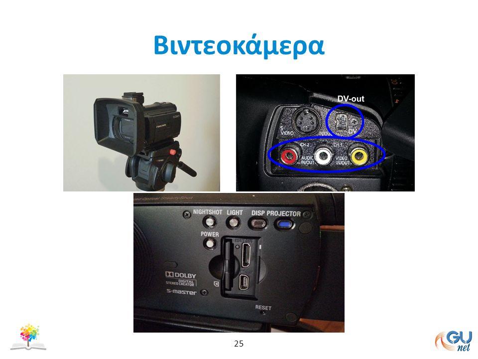 Βιντεοκάμερα 25