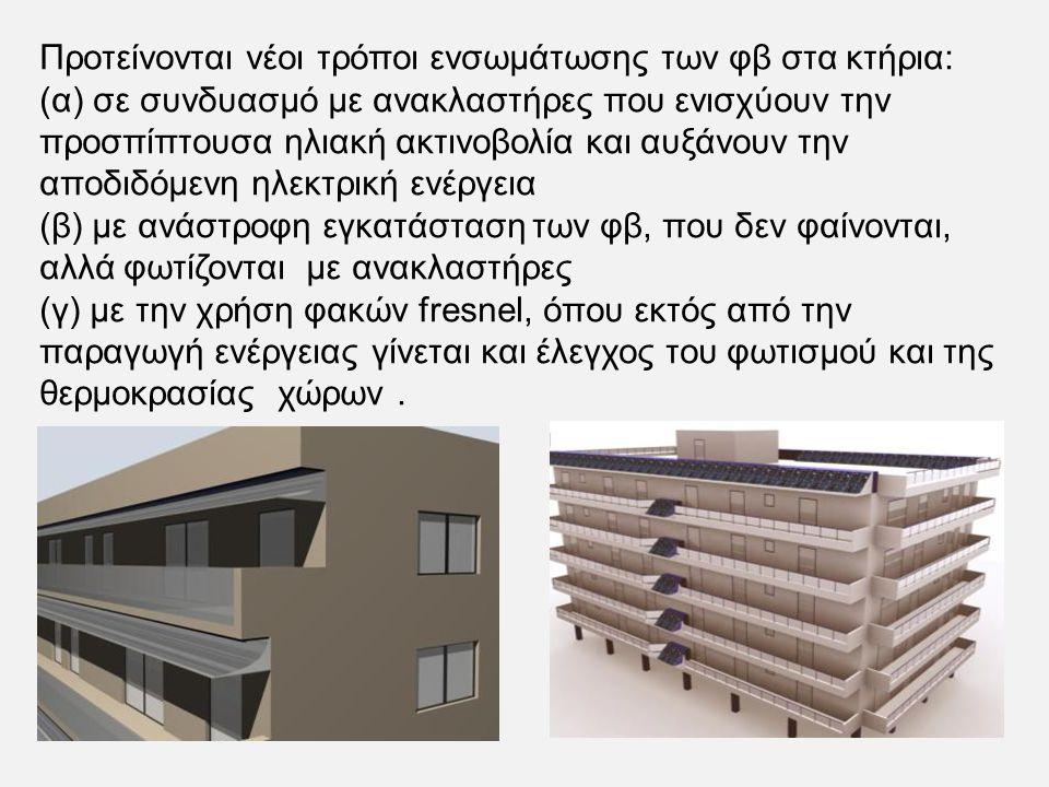 Booster Diffuse Reflectors Χρήση διάχυτων ανακλαστήρων σε εγκατάσταση φωτοβολταϊκών επί της οροφής κτηρίων
