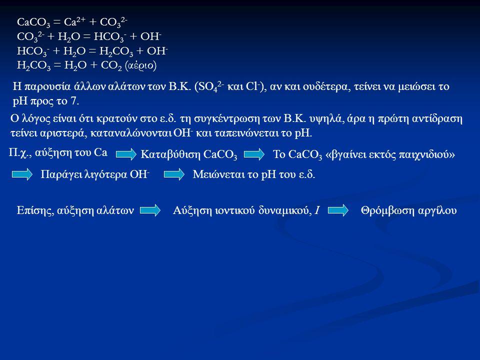 Αλατότητα 1) TDS (total dissolved solids) = Ολικά διαλυτά στερεά 2) EC (ηλεκτρική αγωγιμότητα Μέτρηση Αλάτων Νατρίωση 1) ESP = Ποσοστό της ΙΑΚ που καταλαμβάνει το ανταλλάξιμο Να + (μετριέται στα στερεά του εδάφους.