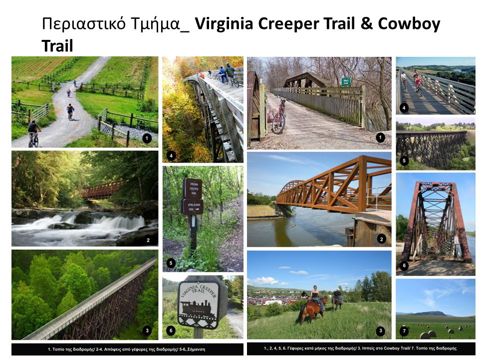 Περιαστικό Τμήμα_ Virginia Creeper Trail & Cowboy Trail