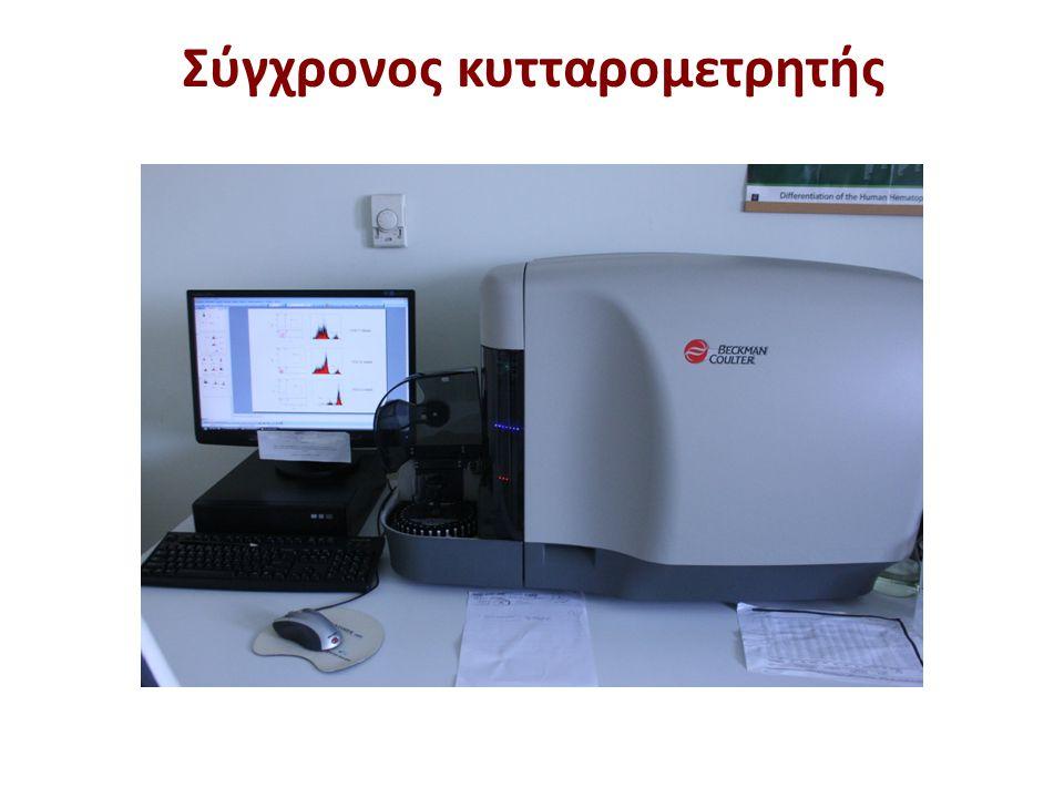 Σύγχρονος κυτταρομετρητής