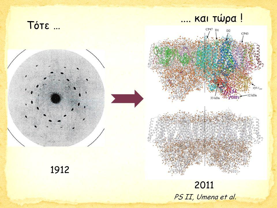 Τότε … 1912 2011.... και τώρα ! PS II, Umena et al.