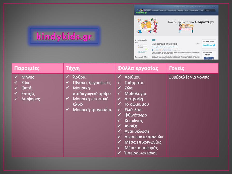 Αρχική Βιβλία Διαθεματικά Κοινωνικά Παιχνίδια Πολυμέσα 1.Κατηγορίες 2.Σελίδες 3.Blogroll 4.Γενικού ενδιαφέροντος 5.Δημοτικά σχολεία 6.Εκπαιδευτικό υλικό - συνδέσεις 7.Εκπαιδευτικές ταινίες 8.Κατασκευές - χειροτεχνίες 9.Λογισμικά για το νηπιαγωγείο 10.Προσχολική εκπαίδευση - νηπιαγωγείο