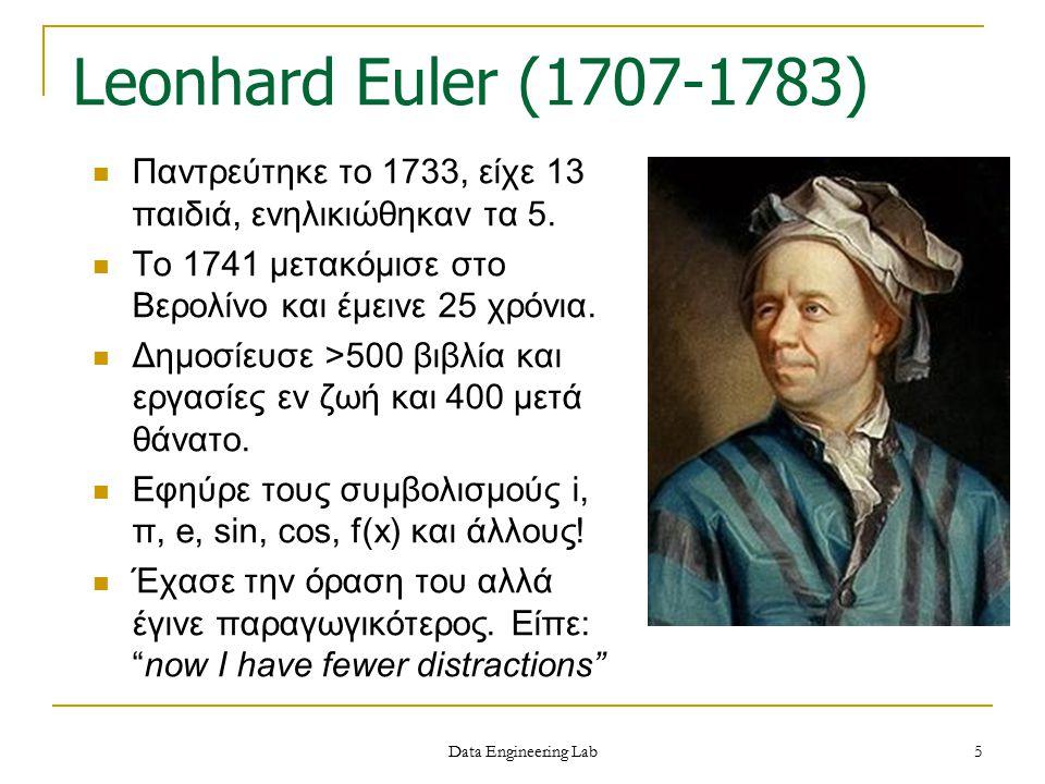 Παντρεύτηκε το 1733, είχε 13 παιδιά, ενηλικιώθηκαν τα 5. Το 1741 μετακόμισε στο Βερολίνο και έμεινε 25 χρόνια. Δημοσίευσε >500 βιβλία και εργασίες εν