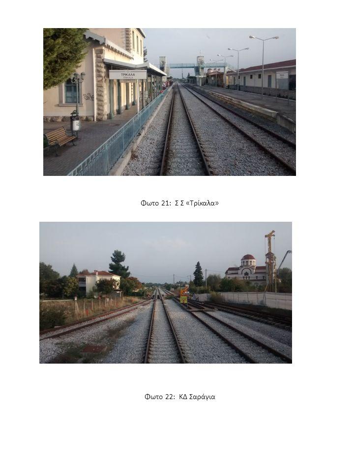 Φωτο 21: Σ Σ «Τρίκαλα» Φωτο 22: ΚΔ Σαράγια
