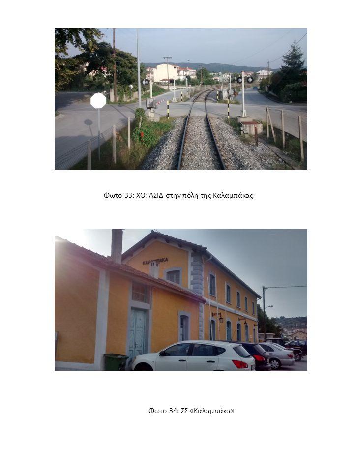Φωτο 33: ΧΘ: ΑΣΙΔ στην πόλη της Καλαμπάκας Φωτο 34: ΣΣ «Καλαμπάκα»