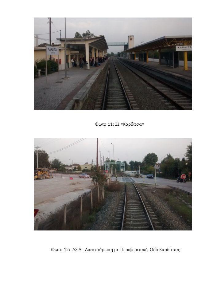 Φωτο 11: ΣΣ «Καρδίτσα» Φωτο 12: ΑΣΙΔ - Διασταύρωση με Περιφερειακή Οδό Καρδίτσας
