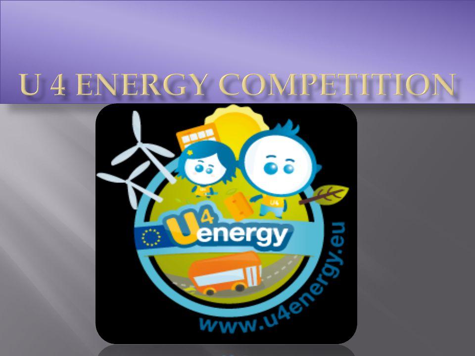U 4 energy π ανευρωπαϊκός δ ιαγωνισμός γ ια τ ην ενεργειακή ε κπαίδευση α πό τ ην Ε υρωπαϊκή Έ νωση
