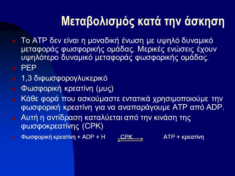 To ATP δεν είναι η μοναδική ένωση με υψηλό δυναμικό μεταφοράς φωσφορικής ομάδας. Μερικές ενώσεις έχουν υψηλότερο δυναμικό μεταφοράς φωσφορικής ομάδας.
