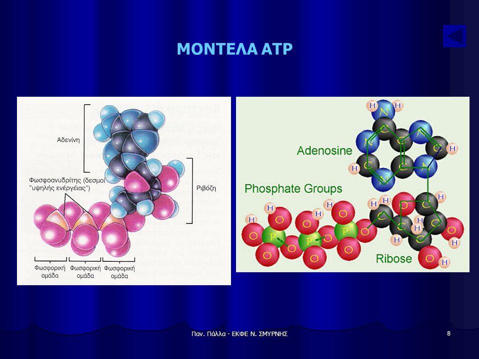 Παν. Πάλλα - ΕΚΦΕ Ν. ΣΜΥΡΝΗΣ 8 ΜΟΝΤΕΛΑ ATP