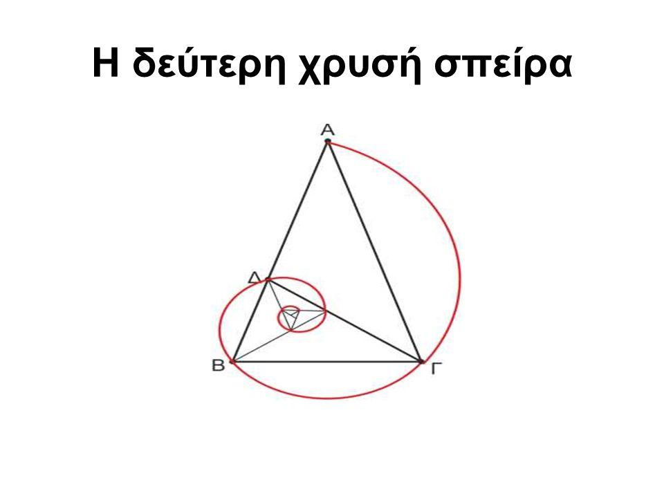 Το χρυσό ορθογώνιο Ένα ορθογώνιο λέγεται χρυσό, όταν ο λόγος των δύο διαστάσεών του είναι ίσος με φ.