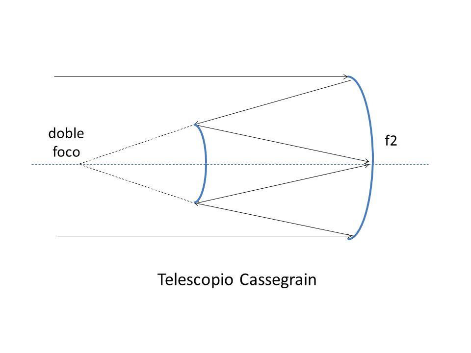 doble foco f2 Telescopio Cassegrain