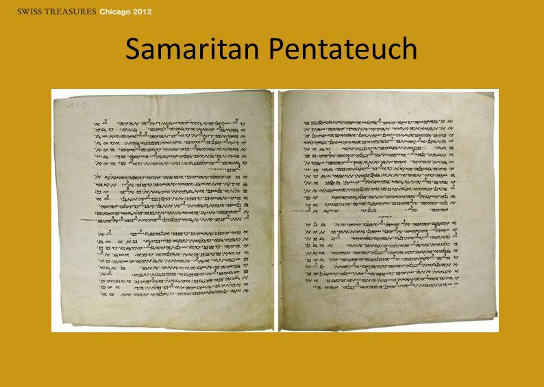 Samaritan Pentateuch