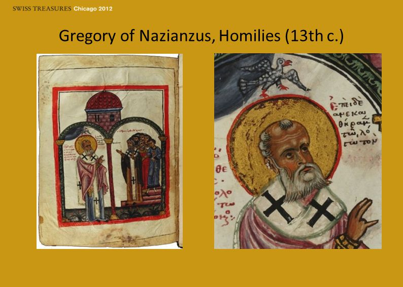 Gregory of Nazianzus, Homilies (13th c.)