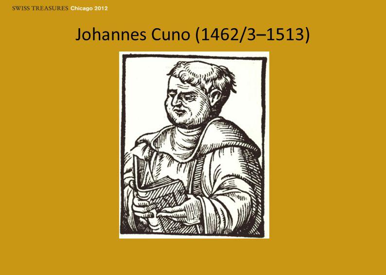 Johannes Cuno (1462/3–1513)