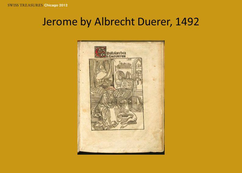 Jerome by Albrecht Duerer, 1492