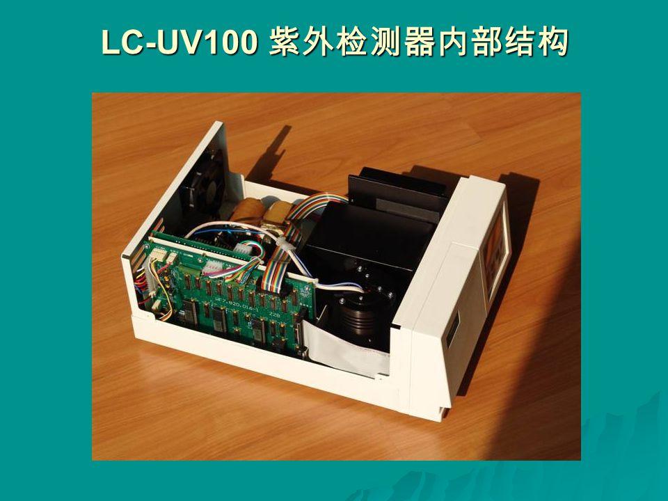 LC-UV100 紫外检测器内部结构