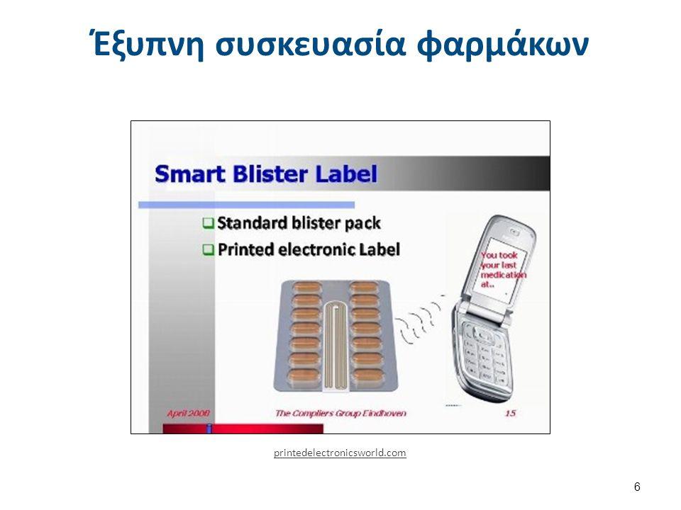 Μειονεκτήματα του συμβατικού τρόπου κατασκευής ηλεκτρονικών κυκλωμάτων Η κλασσική βιομηχανία κατασκευής ηλεκτρονικών κυκλωμάτων χρησιμοποιεί αφαιρετικές διαδικασίες, Εφαρμόζεται σε πιο μικρές επιφάνειες, σκληρά - άκαμπτα υποστρώματα, Χρησιμοποιεί περισσότερα χημικά, Άρα προκαλεί και περισσότερα απόβλητα, Έχει μεγαλύτερη κατανάλωση ενέργειας, Ακολουθεί περισσότερες, πιο πολύπλοκες και πιο δαπανηρές διαδικασίες.
