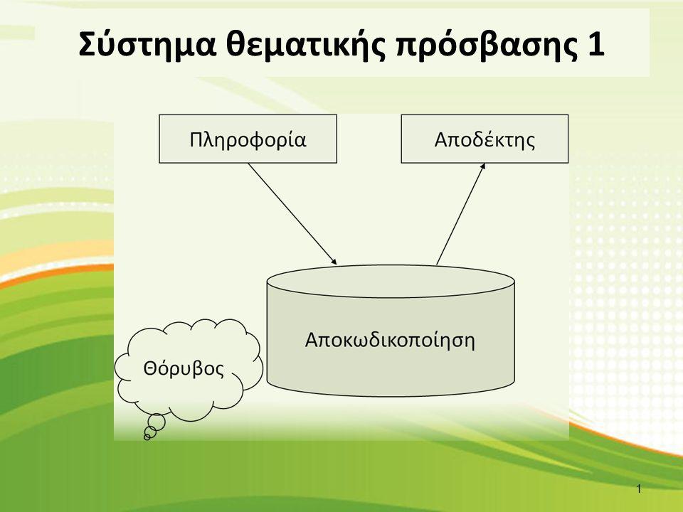 Σύστημα θεματικής πρόσβασης 2 2