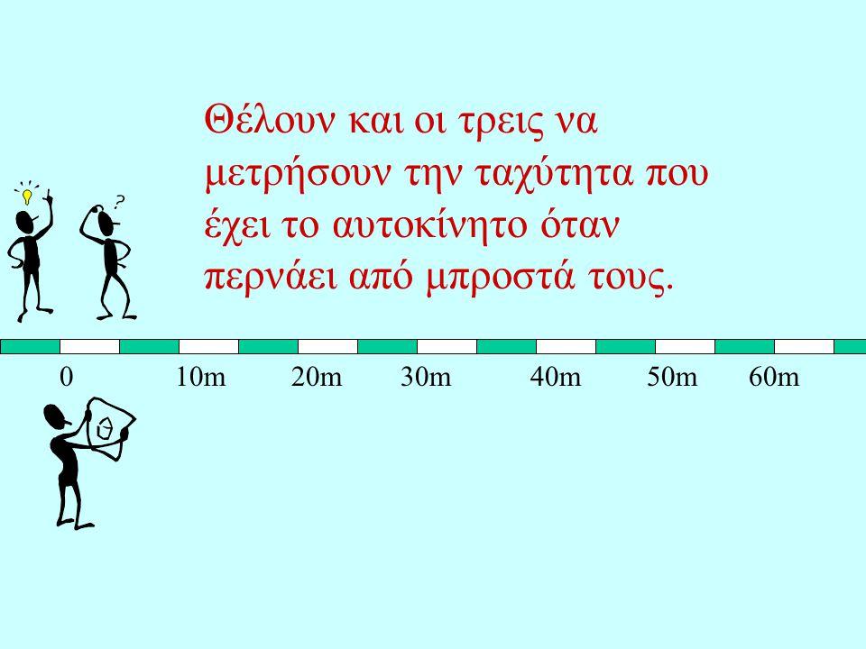Από τη σχέση: φαίνεται ότι η στιγμιαία ταχύτητα έχει την ίδια διεύθυνση και φορά με την στοιχειώδη μετατόπιση.