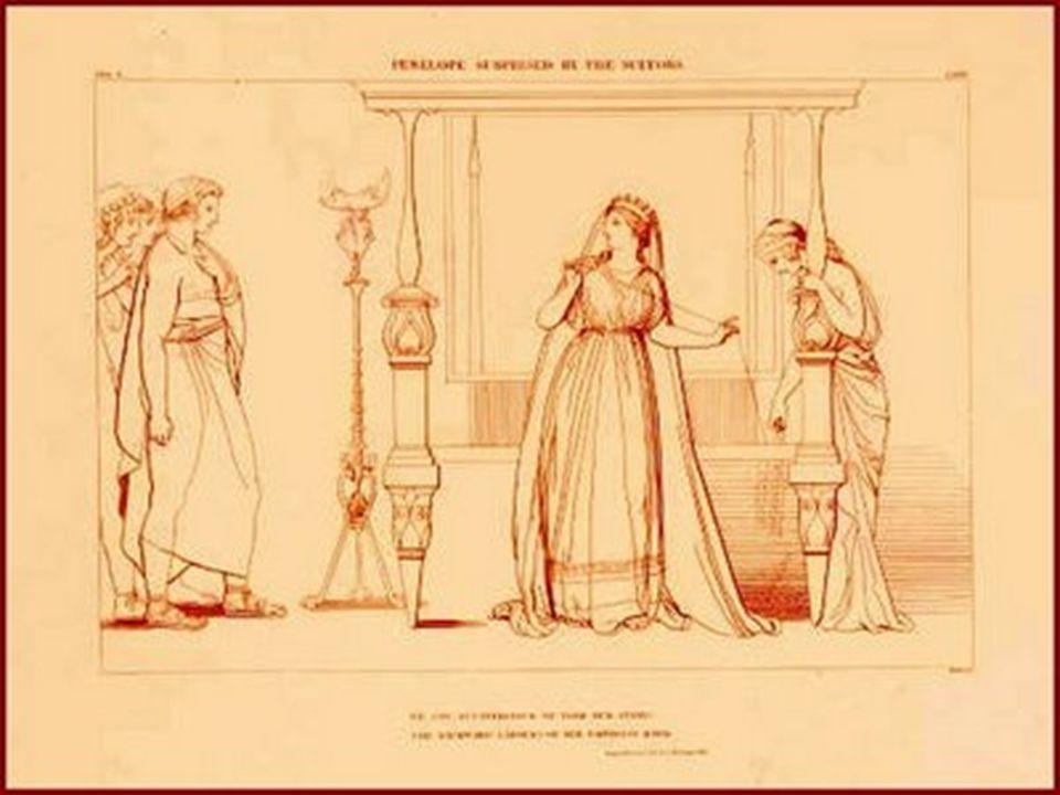 Στο παλάτι του Μενέλαου, συρρέει πλήθος κόσμου και αρχόντων για τους διπλούς γάμους των παιδιών του, και όλοι φέρνουν δώρα όχι μόνο για τους μελλόνυμφους, αλλά και για το βασιλιά και την βασίλισσα.