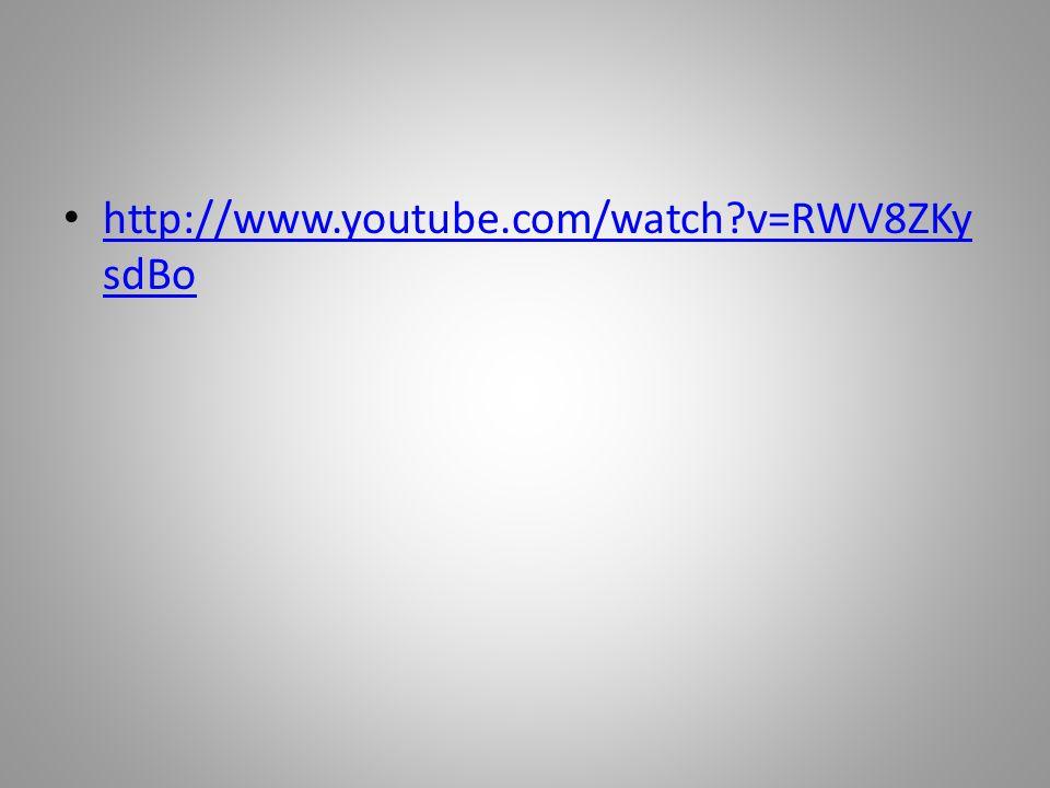 http://www.youtube.com/watch v=RWV8ZKy sdBo http://www.youtube.com/watch v=RWV8ZKy sdBo