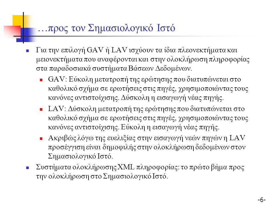 -7--7- Το σύστημα Agora I.Manolescu, D. Florescu, D.