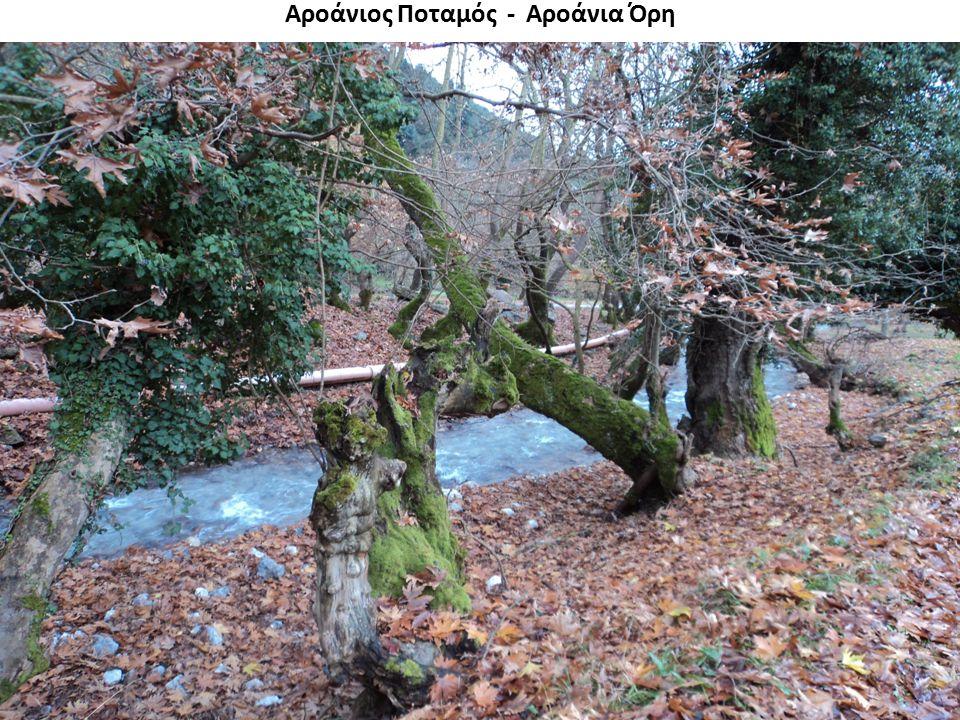 Αροάνιος Ποταμός - Αροάνια Όρη