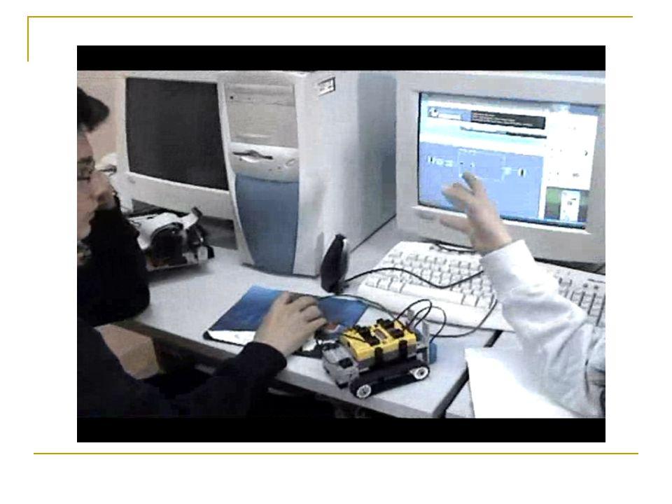 αποτελέσματα και συζήτηση Φάνηκε ότι οι μαθητές κατανοούν εύκολα τα εικονίδια του προγραμματιστικού περιβάλλοντος που αφορούν βασικές συσκευές εξόδου (μοτέρ ή φωτεινή σήμανση).