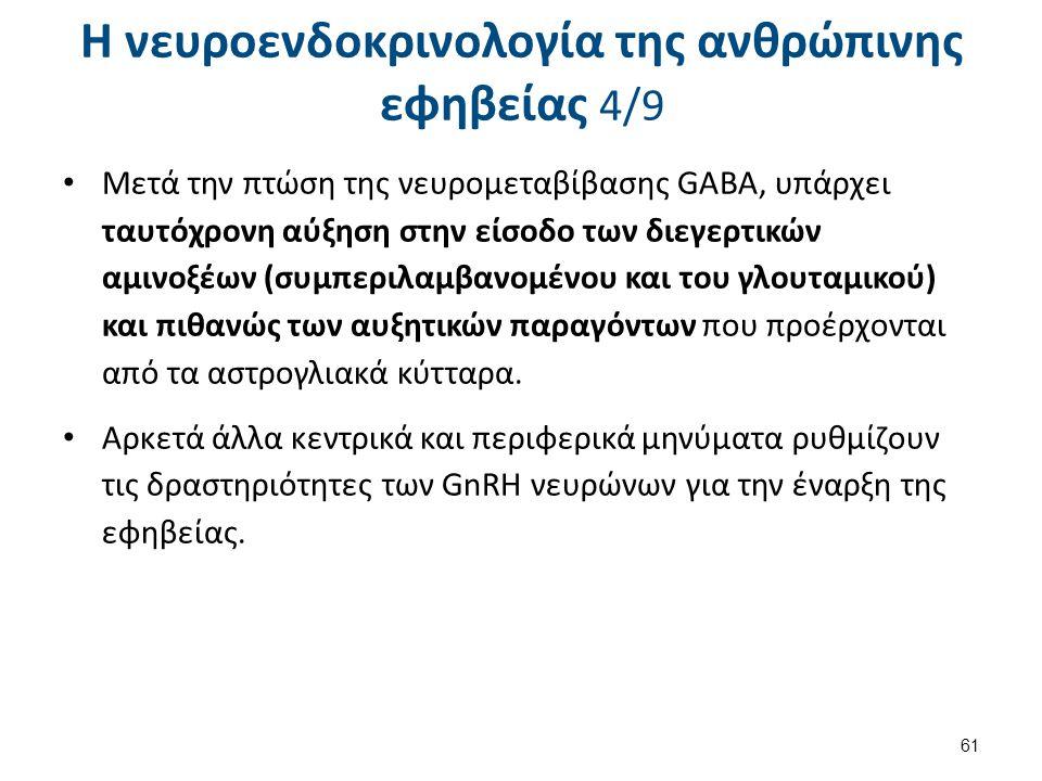 Μετά την πτώση της νευρομεταβίβασης GABA, υπάρχει ταυτόχρονη αύξηση στην είσοδο των διεγερτικών αμινοξέων (συμπεριλαμβανομένου και του γλουταμικού) κα