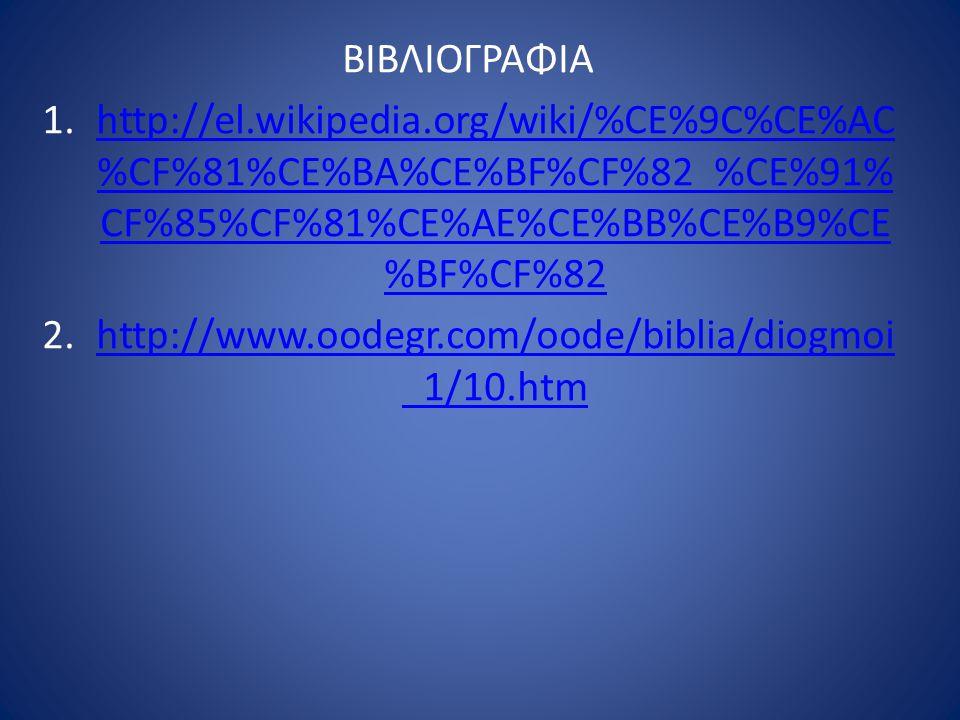 ΒΙΒΛΙΟΓΡΑΦΙΑ 1.http://el.wikipedia.org/wiki/%CE%9C%CE%AC %CF%81%CE%BA%CE%BF%CF%82_%CE%91% CF%85%CF%81%CE%AE%CE%BB%CE%B9%CE %BF%CF%82http://el.wikipedia.org/wiki/%CE%9C%CE%AC %CF%81%CE%BA%CE%BF%CF%82_%CE%91% CF%85%CF%81%CE%AE%CE%BB%CE%B9%CE %BF%CF%82 2.http://www.oodegr.com/oode/biblia/diogmoi _1/10.htmhttp://www.oodegr.com/oode/biblia/diogmoi _1/10.htm