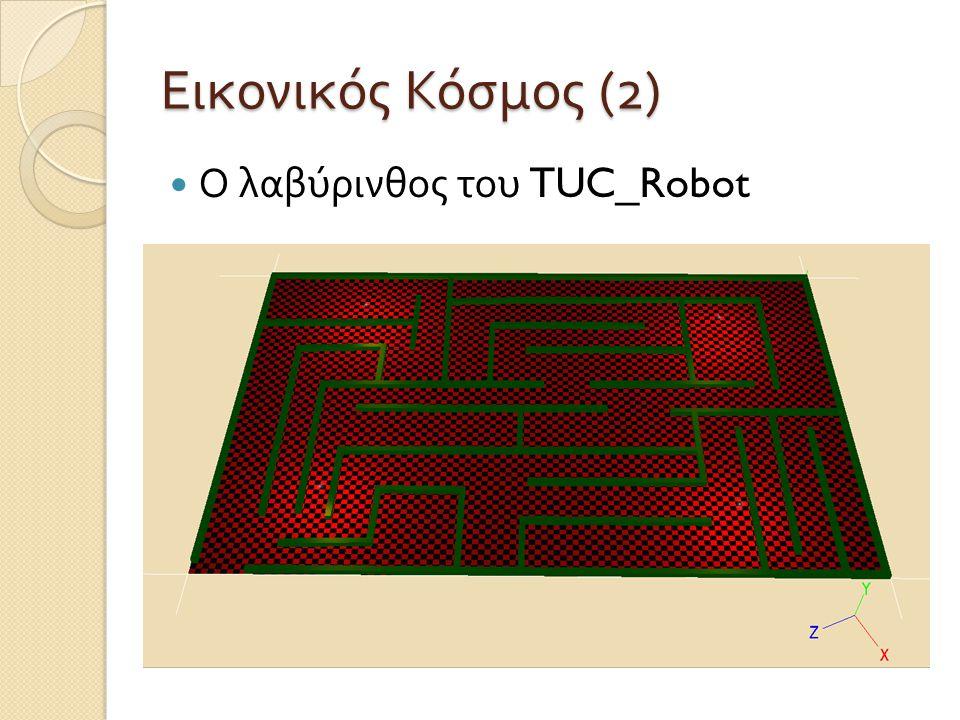 Εικονικός Κόσμος (2) Ο λαβύρινθος του TUC_Robot