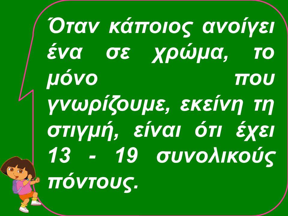 1♥ 1♥ ΑπαντώνΑνοίξας 2 ♥ 4♥ 4♥ ♠ Q32 ♥ KQJ83  A4 ♣ AQ5 Δυνατό χέρι 18 – 19 π.