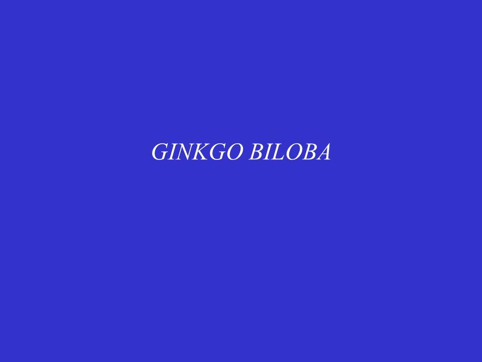 Είναι εκχύλισμα που προέρχεται από ξερά φύλλα του φυτού Ginkgo biloba.