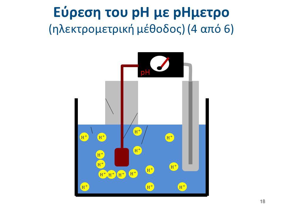 Εύρεση του pH με pΗμετρο (ηλεκτρομετρική μέθοδος) (4 από 6) pH 18