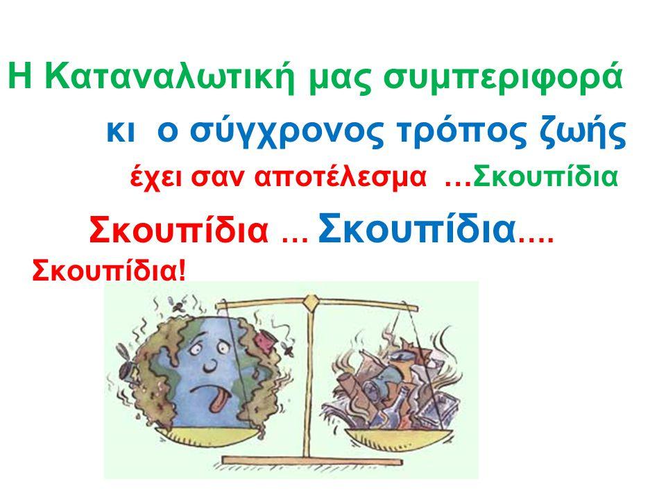 ΣΚΟΥΠΙΔΙΑ- περιβάλλον - ζωή