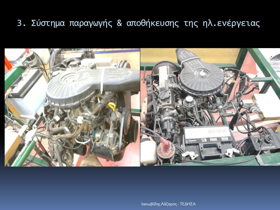 3. Σύστημα παραγωγής & αποθήκευσης της ηλ.ενέργειας Iακωβίδης Λάζαρος - ΤΕΔΗΣΑ