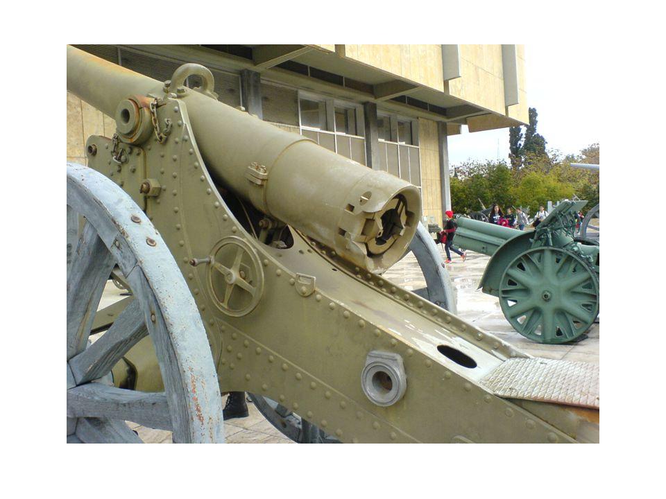 Όπλα από την προϊστορική εποχή έως τον Β΄ Παγκόσμιο πόλεμο.